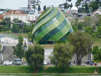 Artichoke Building - housing a restaurant